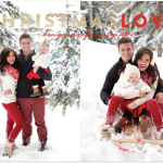 Our Family Christmas Card & Infographic | Brugman's 2014