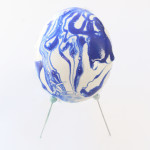 Water Marbled Easter Egg Tutorial