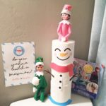Elf on the Shelf Free Snowman Printable